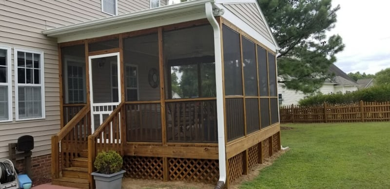 Removable Porch Screens in Raleigh, North Carolina
